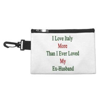 Amo Italia más que amé nunca a mi ex marido