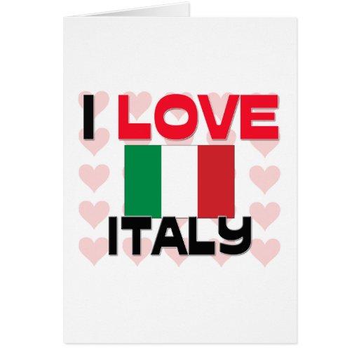 Amo Italia Tarjetas