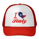 Amo Italia, Tejas Gorras De Camionero
