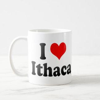 Amo Ithaca Estados Unidos Tazas