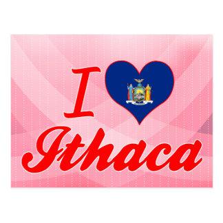 Amo Ithaca, Nueva York Postal