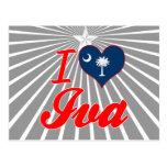 Amo Iva, Carolina del Sur Postales