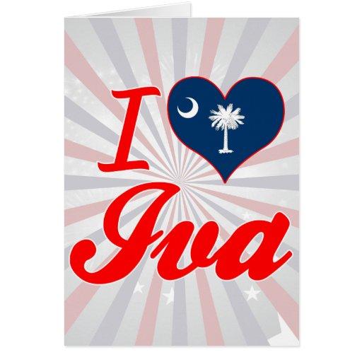 Amo Iva, Carolina del Sur Tarjetón
