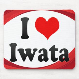Amo Iwata, Japón. Aisuru Iwata, Japón Alfombrillas De Raton