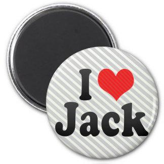 Amo Jack Imán De Frigorifico