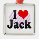 Amo Jack Ornamentos De Navidad