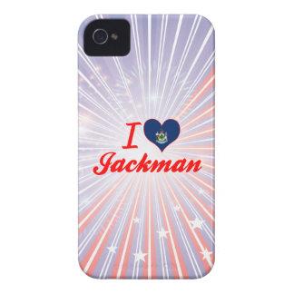 Amo Jackman, Maine Case-Mate iPhone 4 Protectores