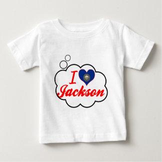 Amo Jackson, New Hampshire Playera Para Bebé