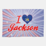 Amo Jackson, Nueva York Toalla De Mano