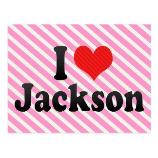 Amo Jackson Postales