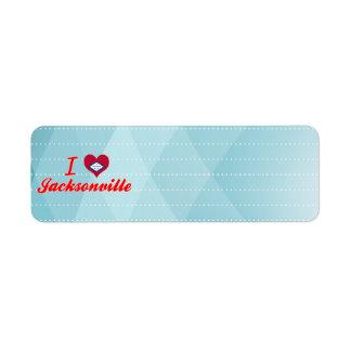 Amo Jacksonville, Arkansas Etiquetas De Remite
