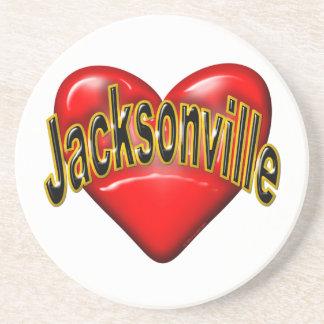 Amo Jacksonville Posavasos Para Bebidas