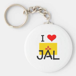 Amo Jal New México Llavero Personalizado