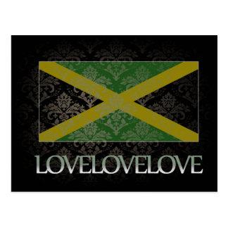 Amo Jamaica fresca Postales