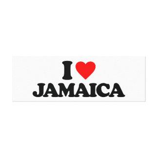 AMO JAMAICA IMPRESIONES DE LIENZO