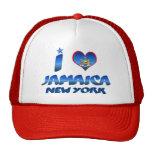 Amo Jamaica, Nueva York Gorras De Camionero