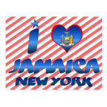 Amo Jamaica, Nueva York Tarjetas Postales
