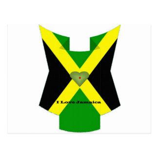 Amo Jamaica tengo Niza un día y una mejor noche Postal