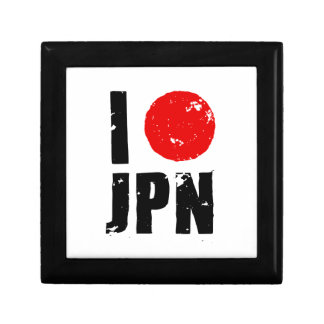 Amo Japón (amor JPN de I) Caja De Regalo