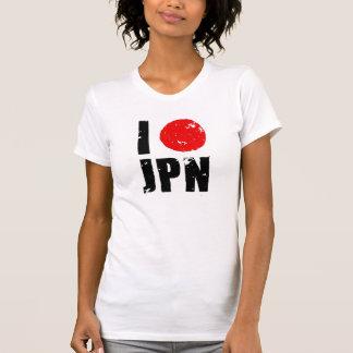Amo Japón (amor JPN de I) Camisetas