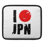 Amo Japón (amor JPN de I) Fundas Para iPads