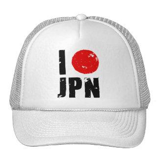 Amo Japón (amor JPN de I) Gorro De Camionero