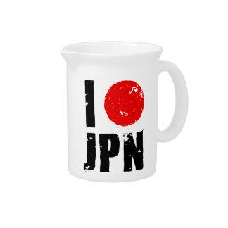 Amo Japón (amor JPN de I) Jarras De Beber