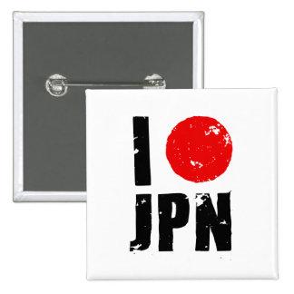 Amo Japón (amor JPN de I) Pin