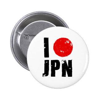 Amo Japón (amor JPN de I) Pins