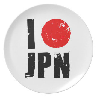 Amo Japón (amor JPN de I) Plato De Comida