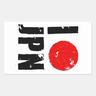 Amo Japón (amor JPN de I) Rectangular Altavoces