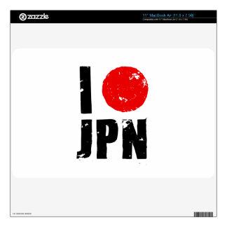 Amo Japón (amor JPN de I) Skins Para elMacBook