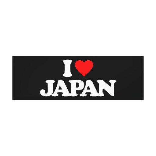 AMO JAPÓN IMPRESIONES DE LIENZO