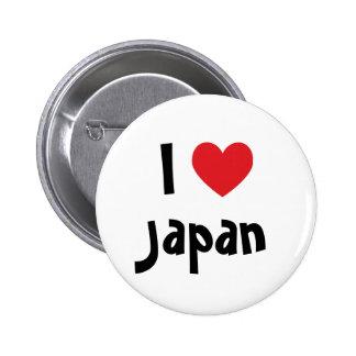 Amo Japón Pin Redondo 5 Cm