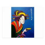 Amo japonés # 1 postal