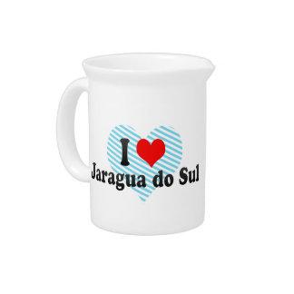 Amo Jaragua hago Sul, el Brasil Jarra Para Bebida