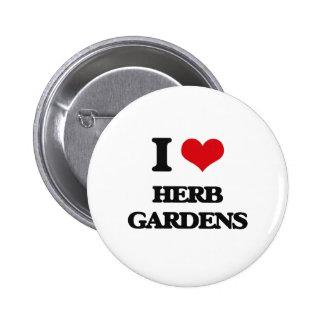 Amo jardines de hierbas pin redondo 5 cm
