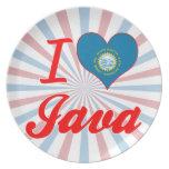 Amo Java, Dakota del Sur Platos