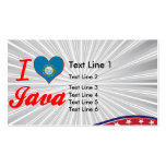 Amo Java, Dakota del Sur Tarjetas De Visita