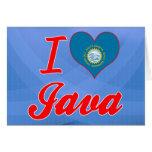 Amo Java, Dakota del Sur Tarjetón