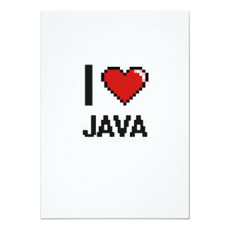 Amo Java Invitación 12,7 X 17,8 Cm
