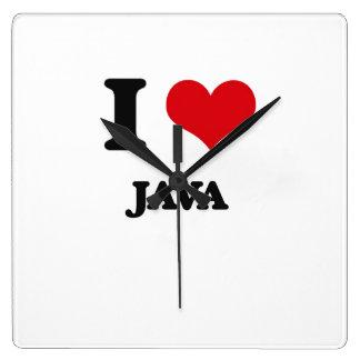 Amo Java Relojes
