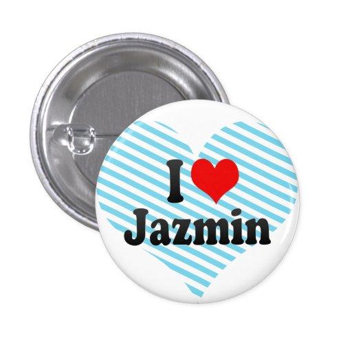 Amo Jazmin Pin Redondo 2,5 Cm