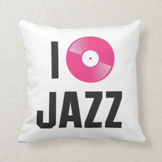Amo jazz almohada