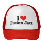 Amo jazz de la fusión gorro de camionero