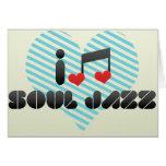 Amo jazz del alma felicitación
