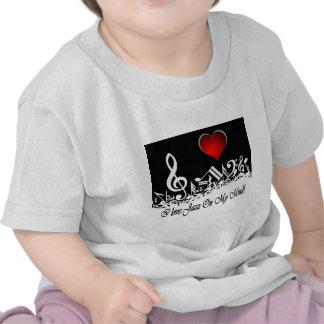Amo jazz en mi ciudad Scape de la mente Camiseta
