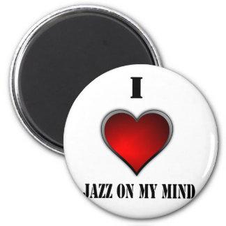 Amo jazz en mi mente imanes