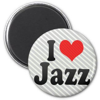 Amo jazz imán para frigorifico