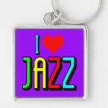 Amo jazz llavero personalizado